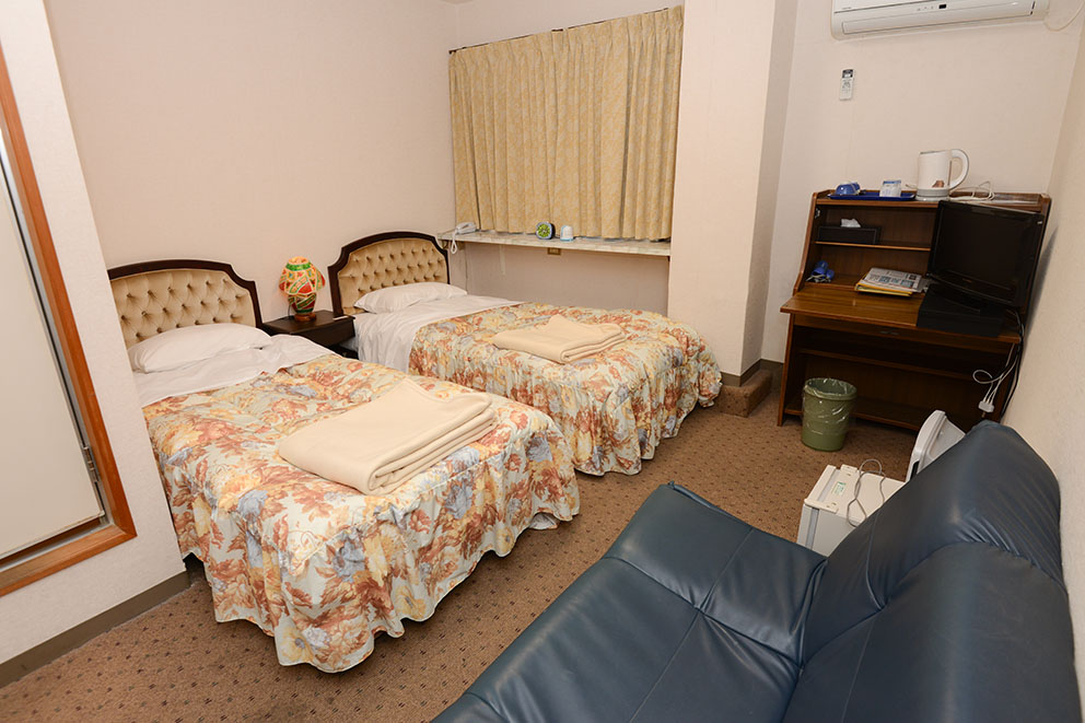Sample twin room