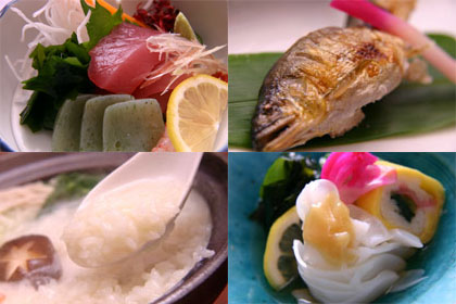 Sample dishes