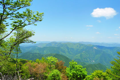 Ryujin mountains