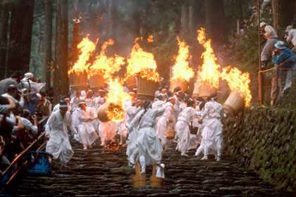 Nachi Fire Festival July 14