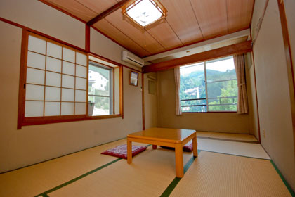 Guestroom with view of Nachi falls