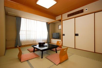 Sample Japanese style guestroom