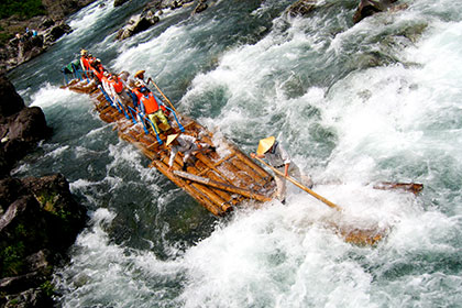 Log Rafting in Dorokyo Gorge