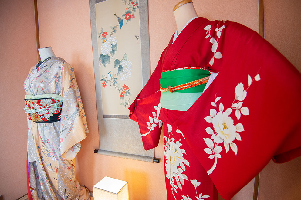 Kimono on Display