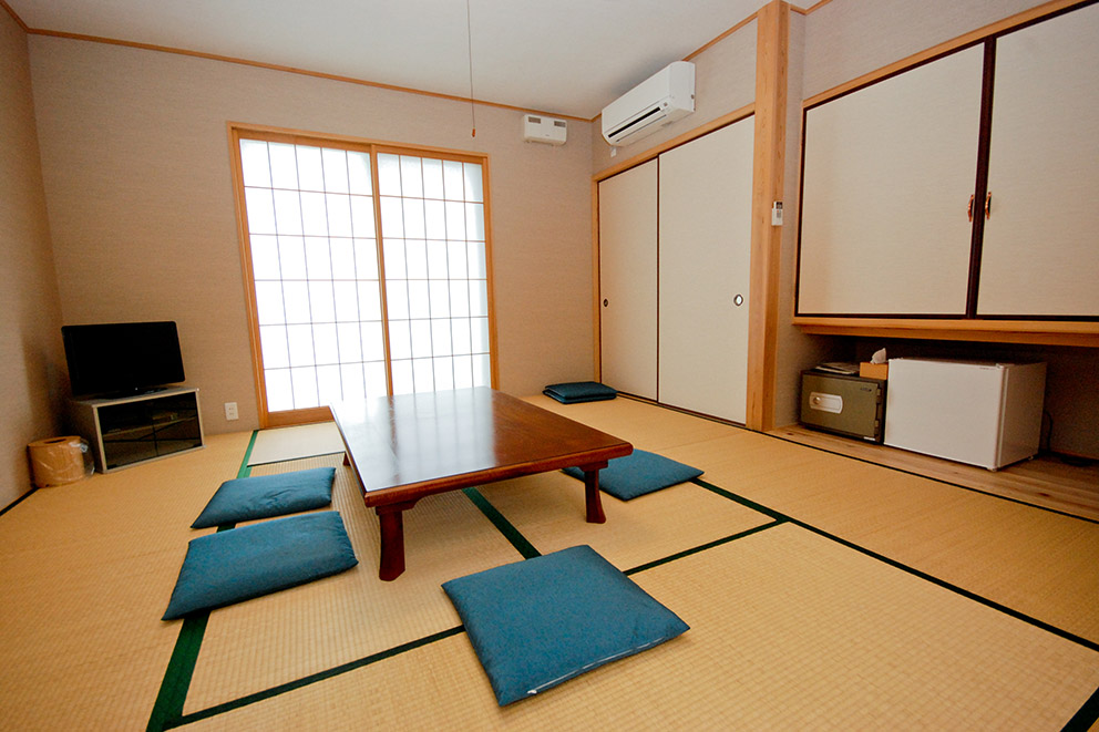 Japanese style guestroom